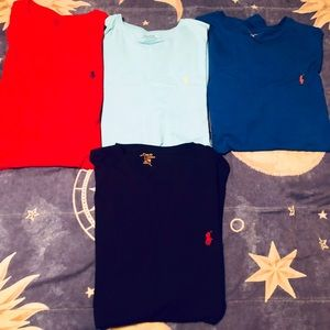 Ralph Lauren classic fit T-Shirt bundle